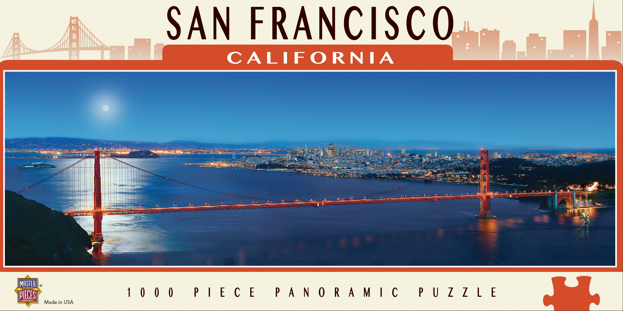 San Francisco - Scratch and Dent Landmarks / Monuments Jigsaw Puzzle