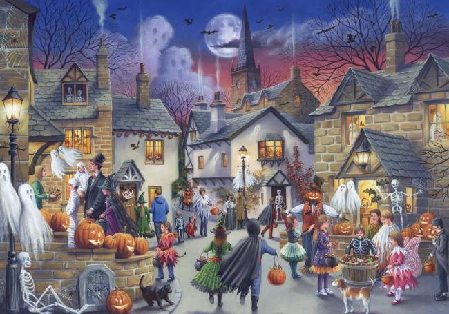 Halloween Fall Jigsaw Puzzle