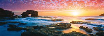 Bridgewater Bay Sunset - Victoria, Australia Summer Jigsaw Puzzle