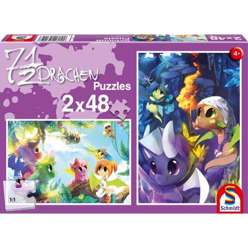 Dragons Fantasy Jigsaw Puzzle