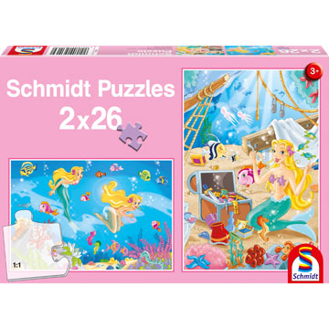 Mermaid Beach Jigsaw Puzzle