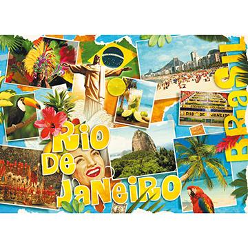 Rio De Janeiro Travel Jigsaw Puzzle
