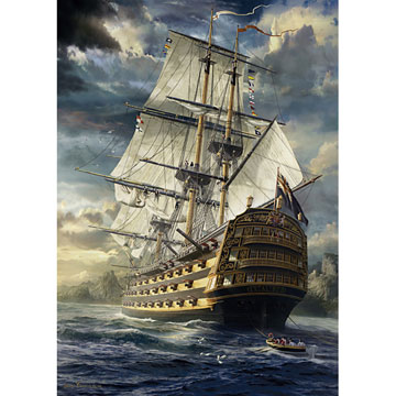 Sails Set Under The Sea Jigsaw Puzzle