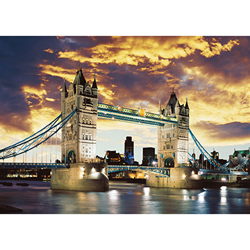 Tower Bridge London Landmarks / Monuments Jigsaw Puzzle