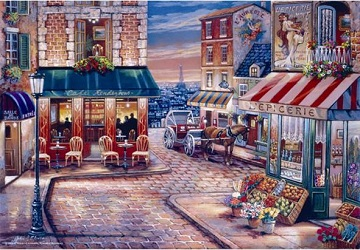 Café Rendezvous Travel Jigsaw Puzzle