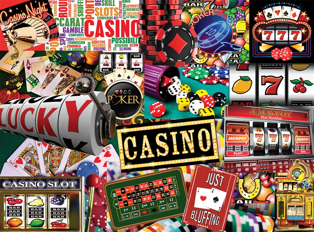 Casino Classic Games Jigsaw Puzzle