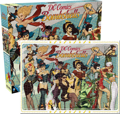 DC Bombshells Cartoons Jigsaw Puzzle