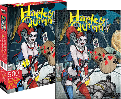 Harley Quinn Cover (DC Comics) Fantasy Jigsaw Puzzle