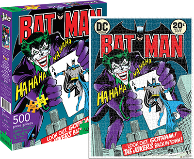 The Joker Cover (DC Comics) Cartoons Jigsaw Puzzle