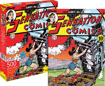 Wonder Woman Cover (DC Comics) Movies / Books / TV Jigsaw Puzzle