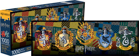 Harry Potter - Crests Graphics / Illustration Jigsaw Puzzle