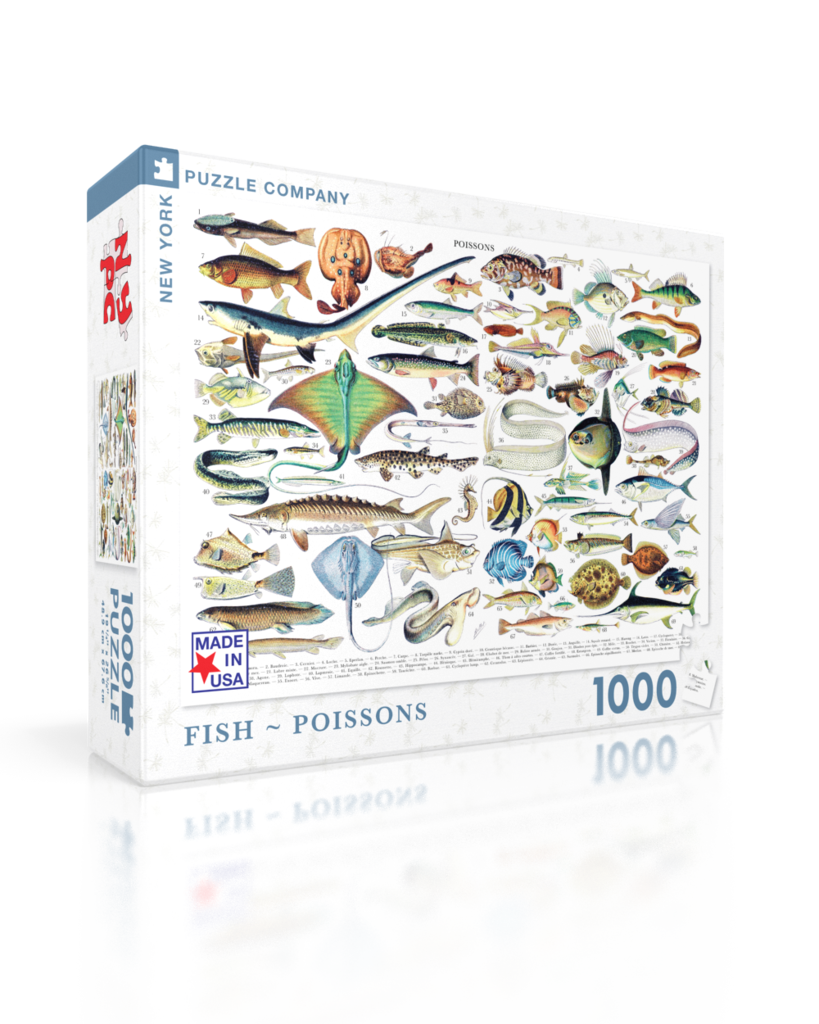 Fish Under The Sea Jigsaw Puzzle