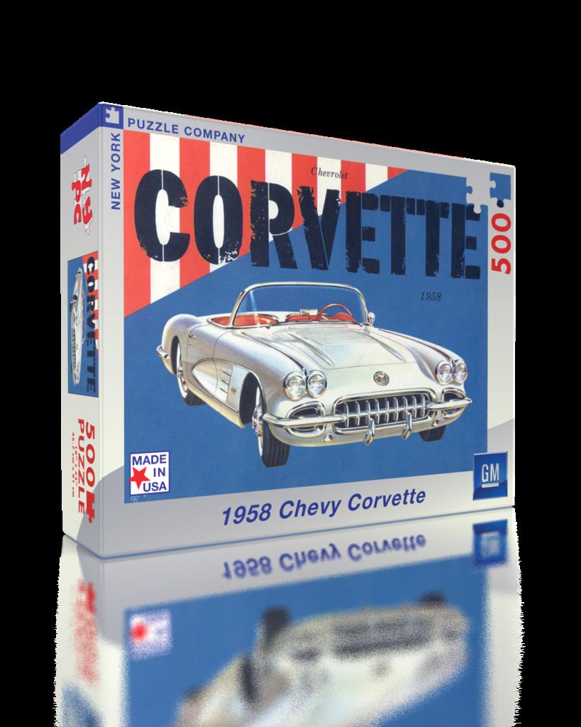 Corvette Convertible (General Motors) Cars Jigsaw Puzzle