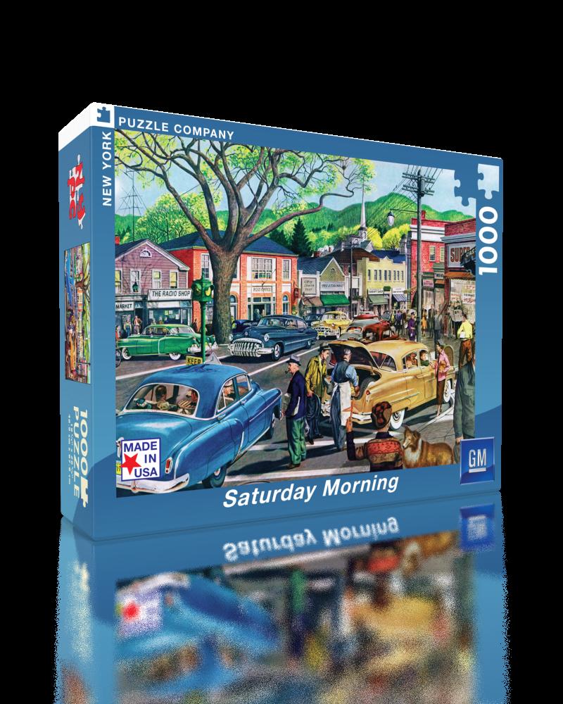 Saturday Afternoon (General Motors) Vehicles Jigsaw Puzzle