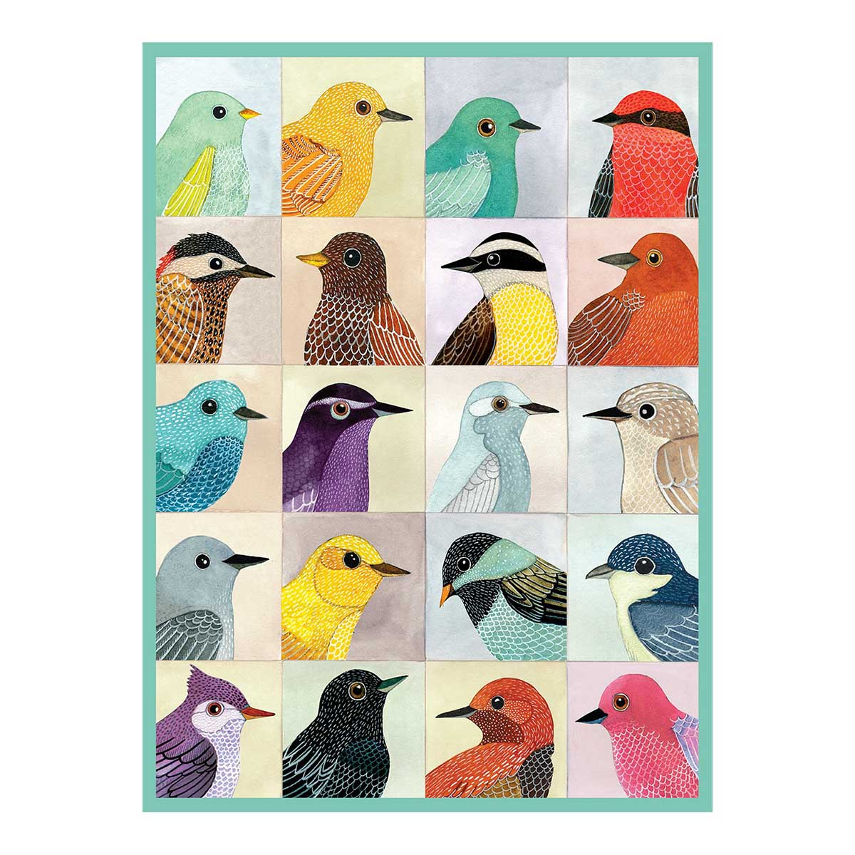 Avian Friends Birds Jigsaw Puzzle