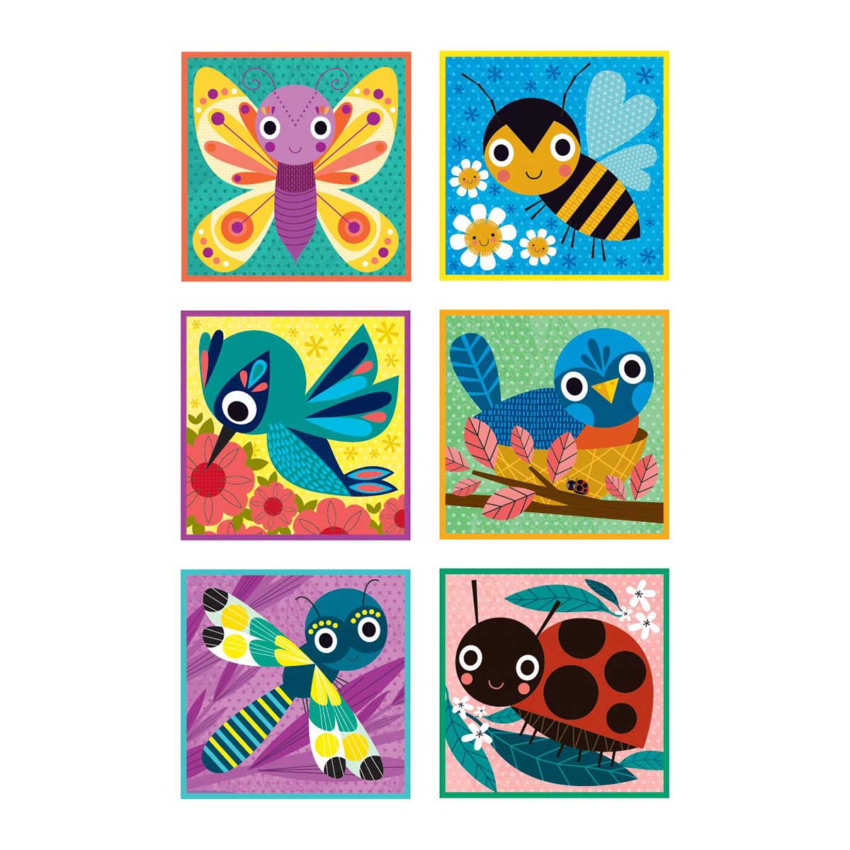 Garden Friends Butterflies and Insects Jigsaw Puzzle