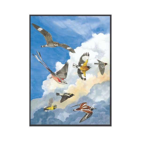 Fantasy Flock Birds Jigsaw Puzzle