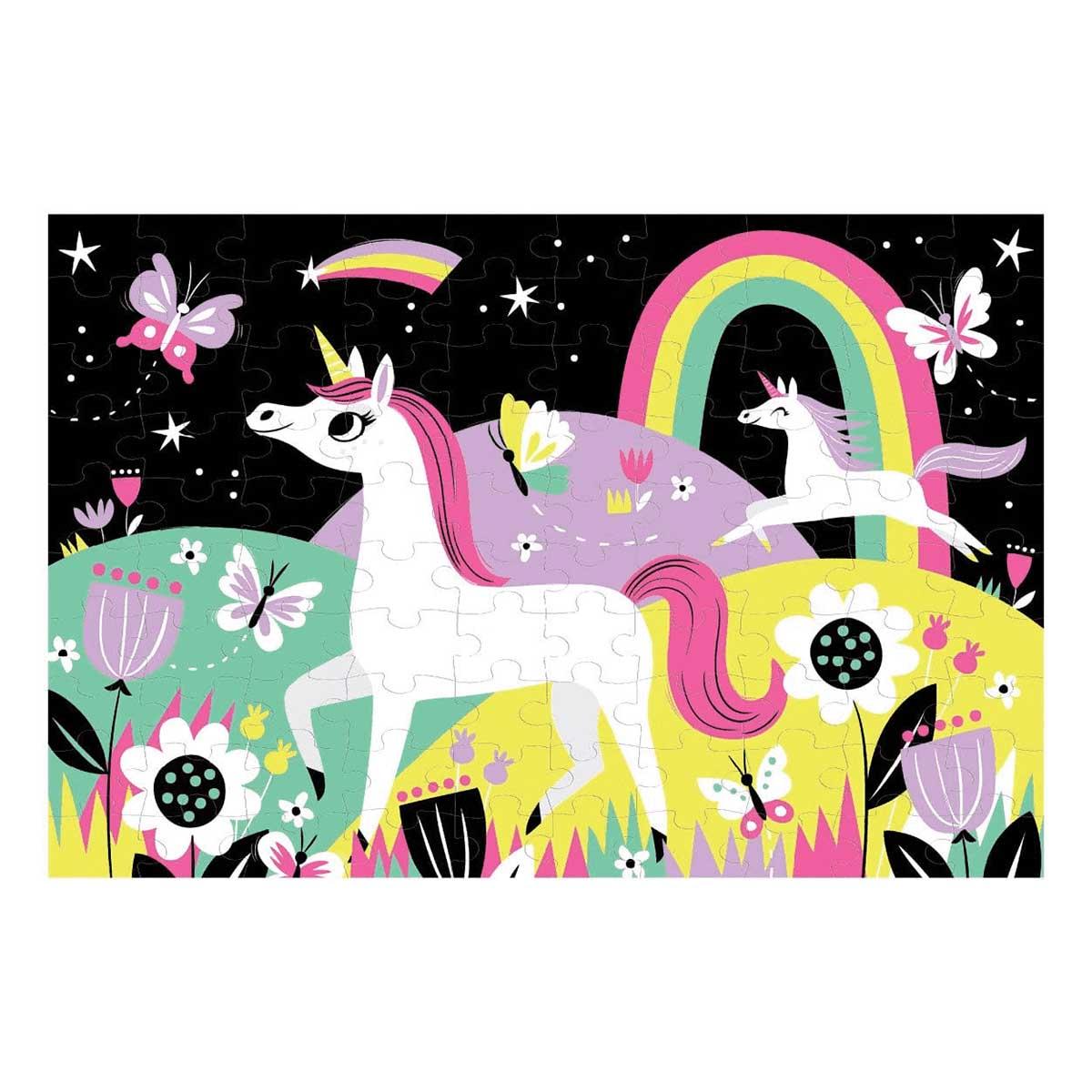 Unicorns Unicorns Glow in the Dark Puzzle