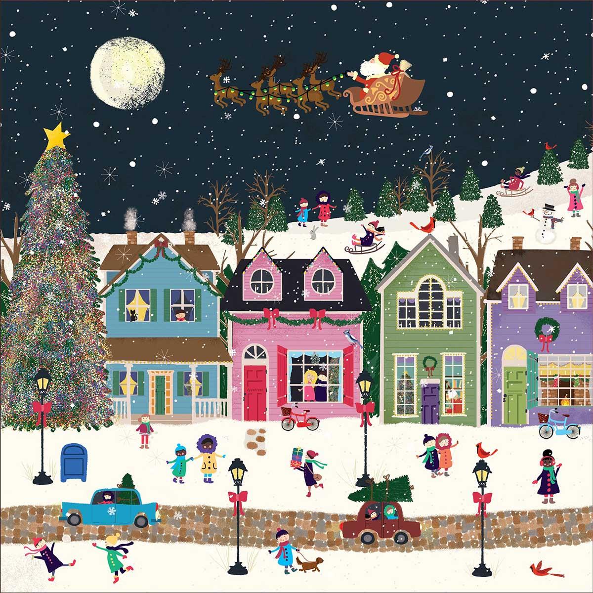 Winter Wonderland Winter Jigsaw Puzzle