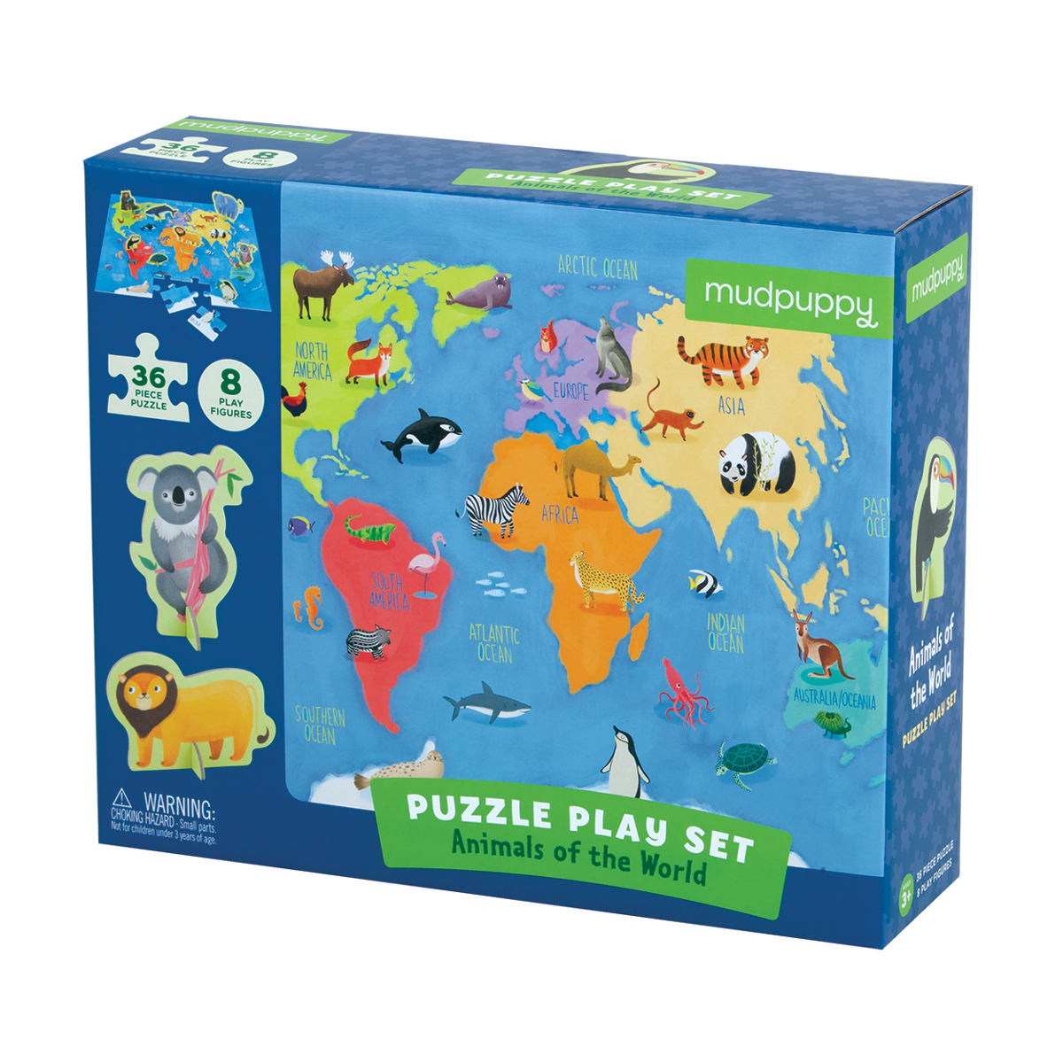 Animals of the World Puzzle Play Set Animals Jigsaw Puzzle