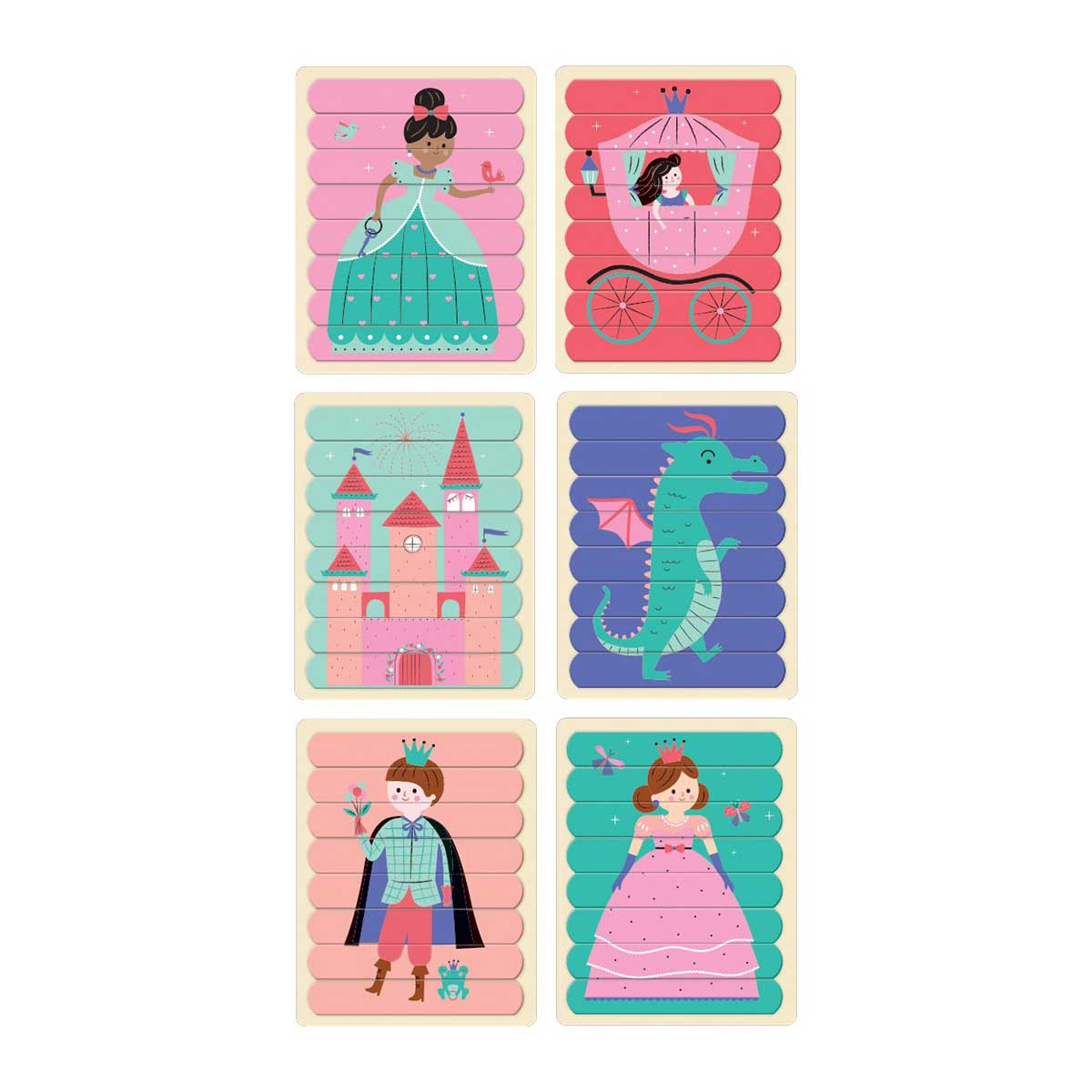 Enchanting Princess Puzzle Sticks Princess Jigsaw Puzzle