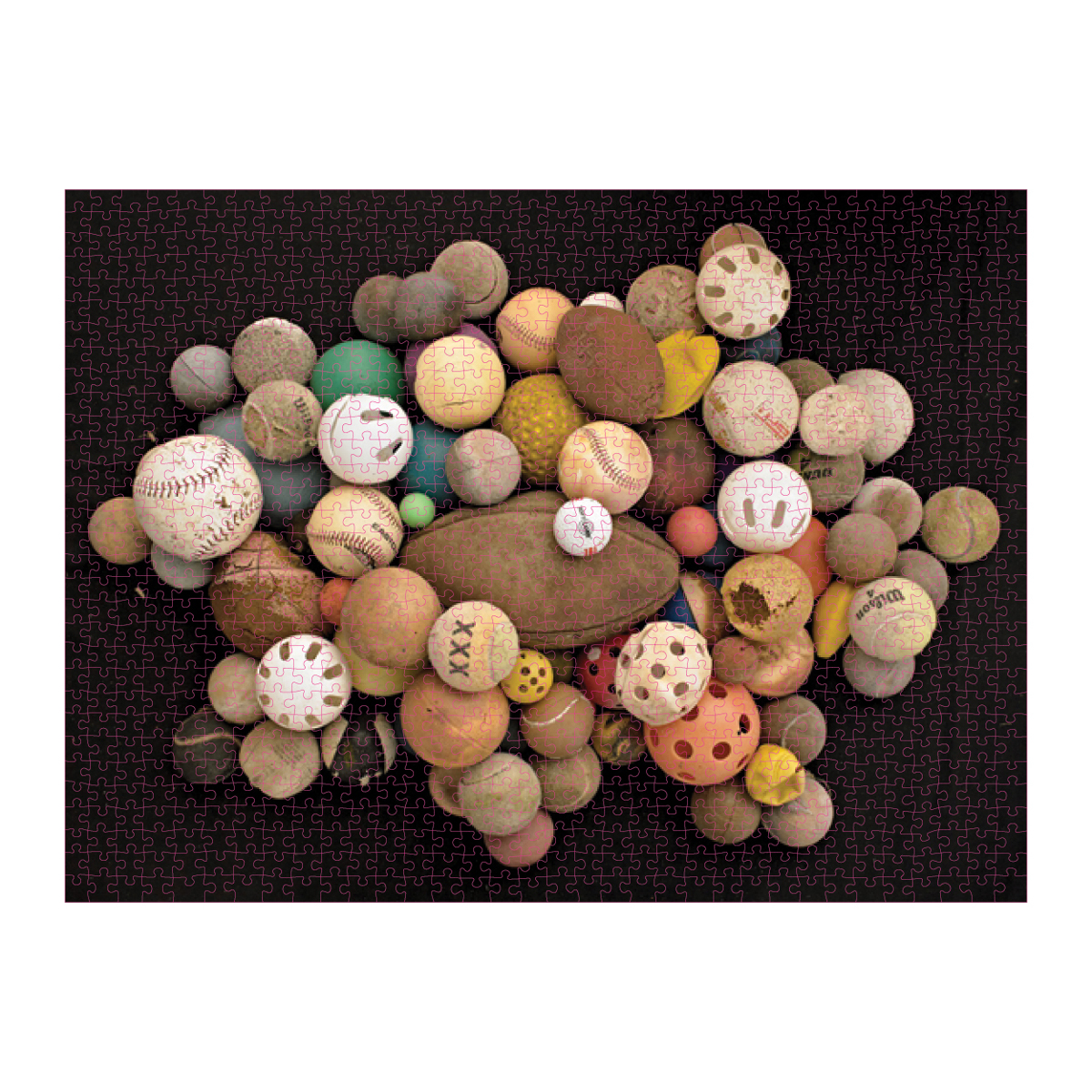 Found in Nature: Beached Balls - Scratch and Dent Sports Jigsaw Puzzle