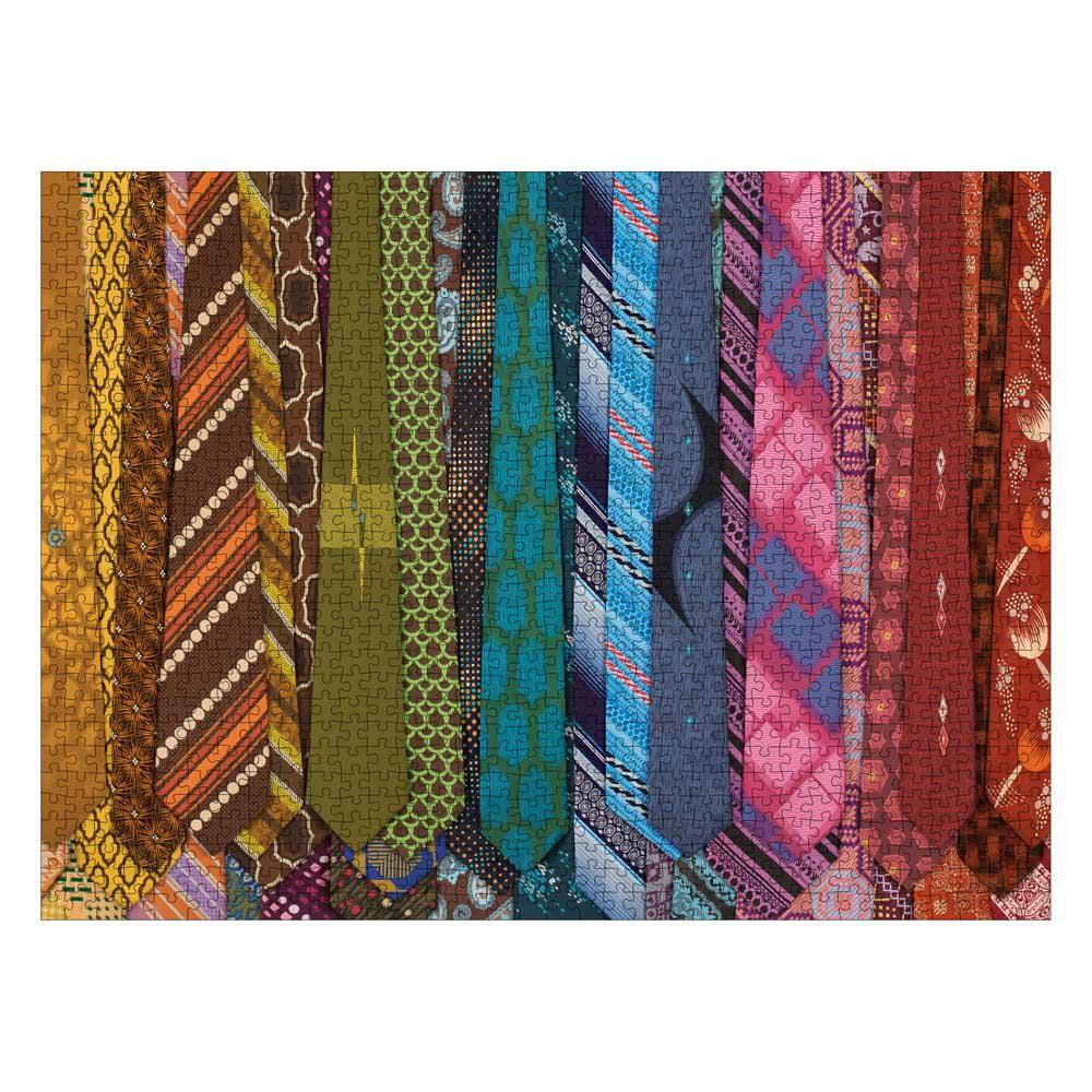 Vintage Neckties Nostalgic / Retro Jigsaw Puzzle