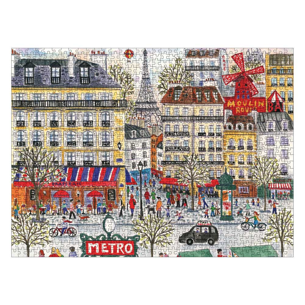 Michael Storrings Paris Paris Jigsaw Puzzle