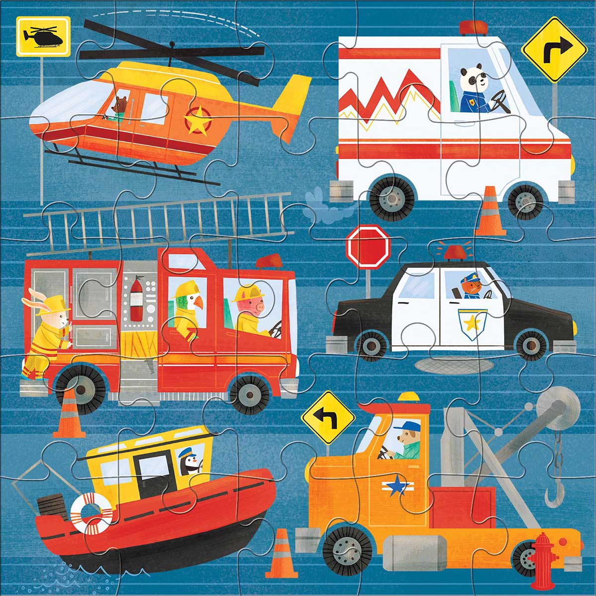 To the Rescue Fantasy Jigsaw Puzzle