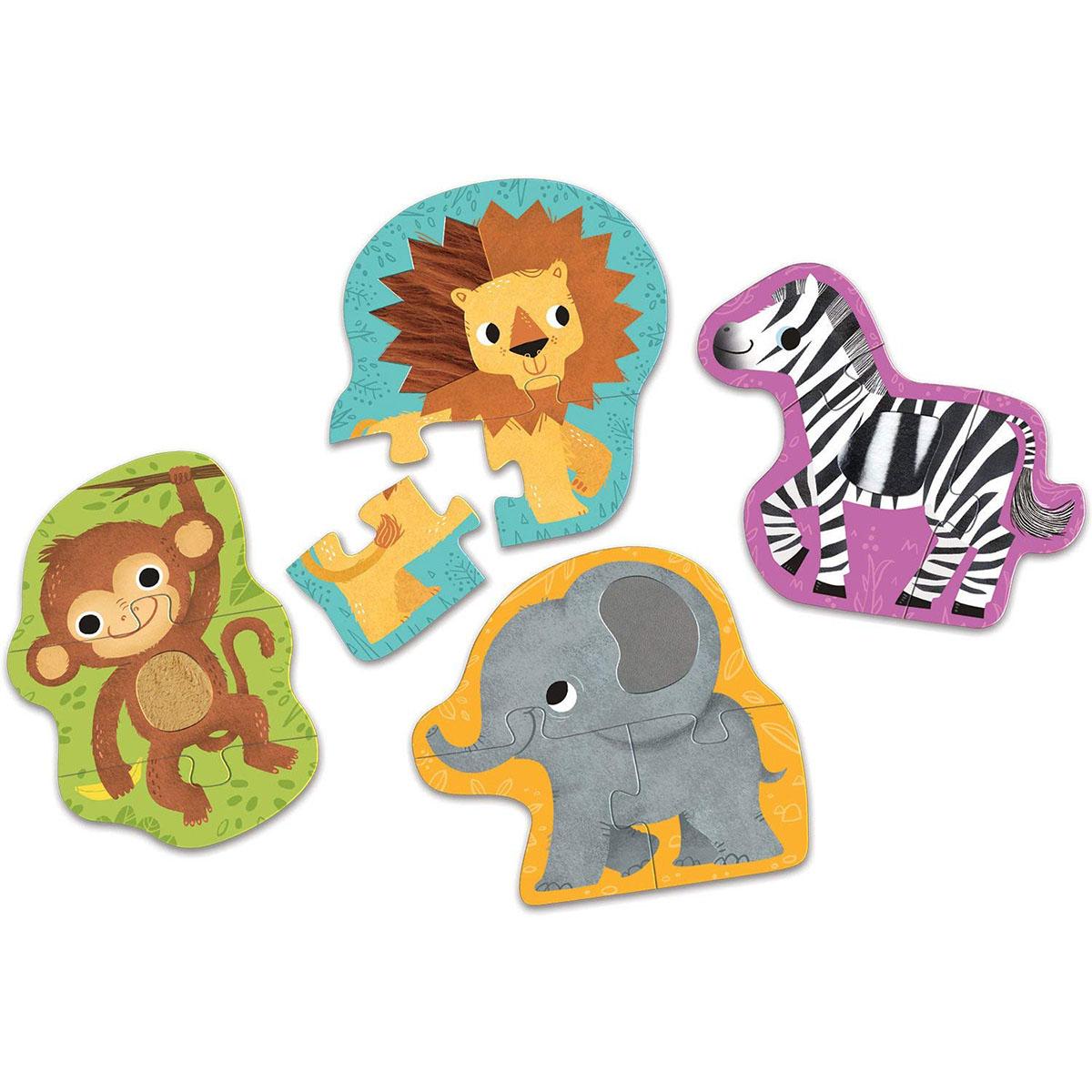 Jungle Animals Animals Jigsaw Puzzle