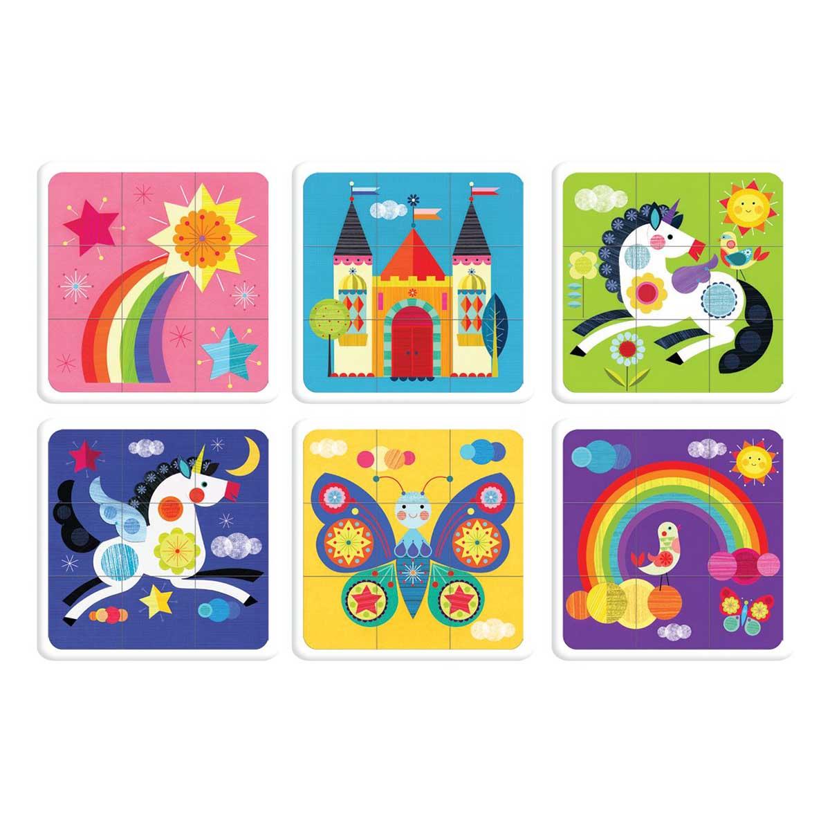 Unicorn Rainbow Fantasy Jigsaw Puzzle