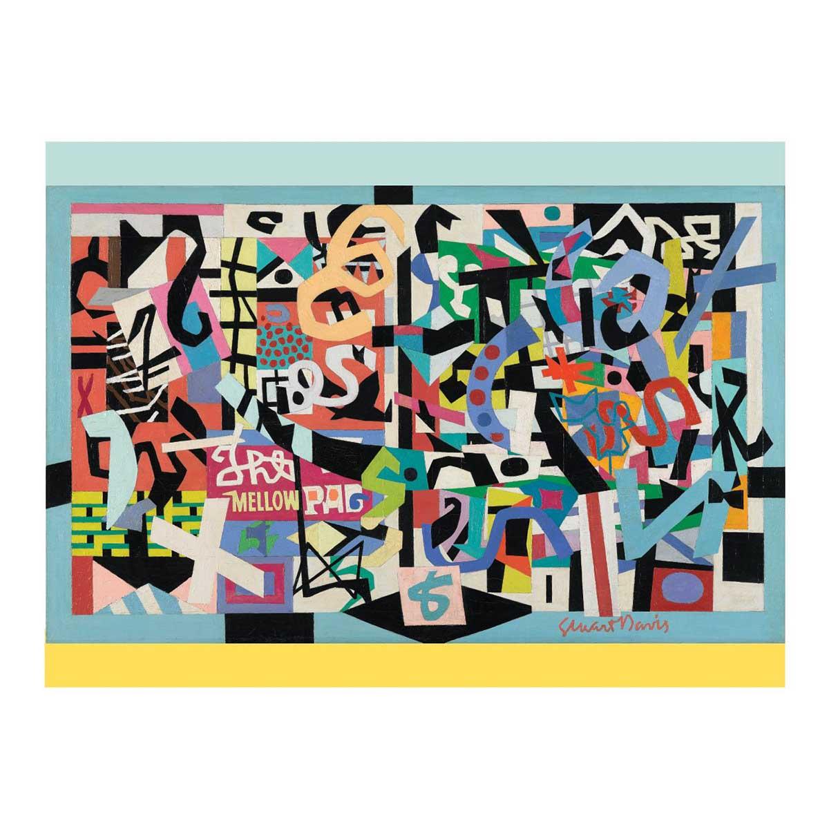 Stuart Davis Contemporary & Modern Art Jigsaw Puzzle