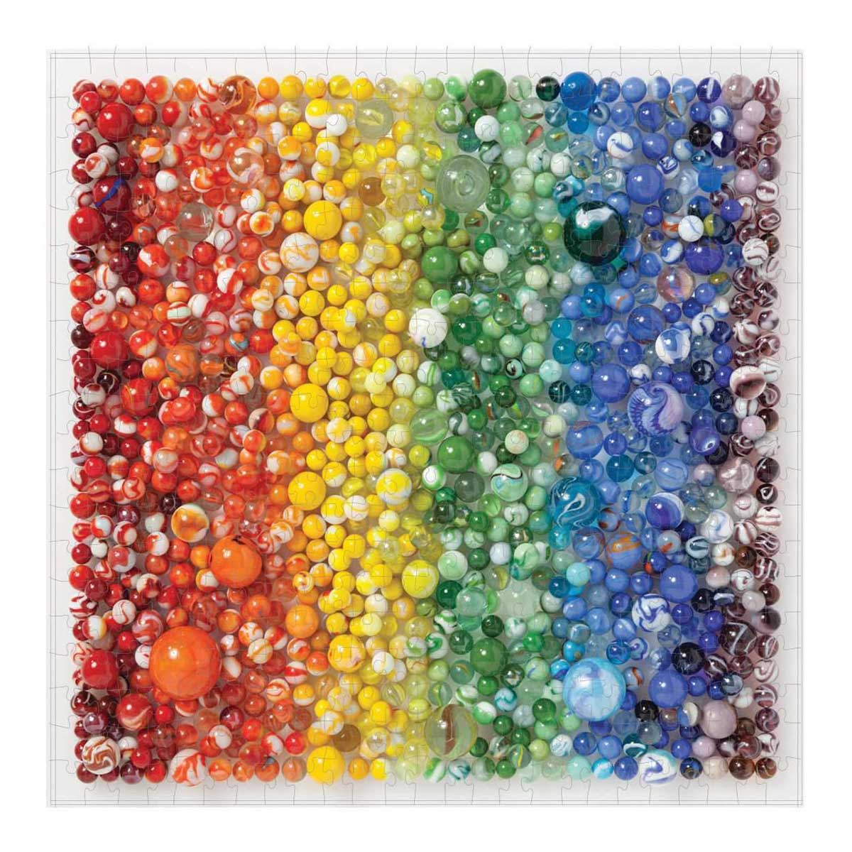 Rainbow Marbles Pattern / Assortment Jigsaw Puzzle