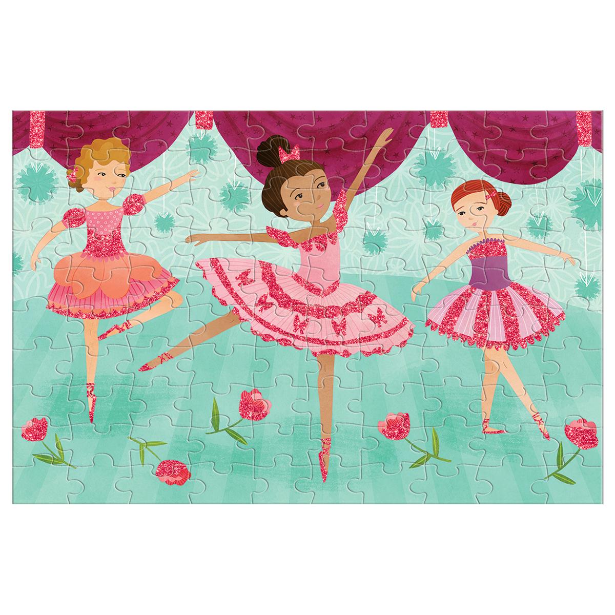 Ballerinas Glitter Princess Glitter / Shimmer / Foil Puzzles