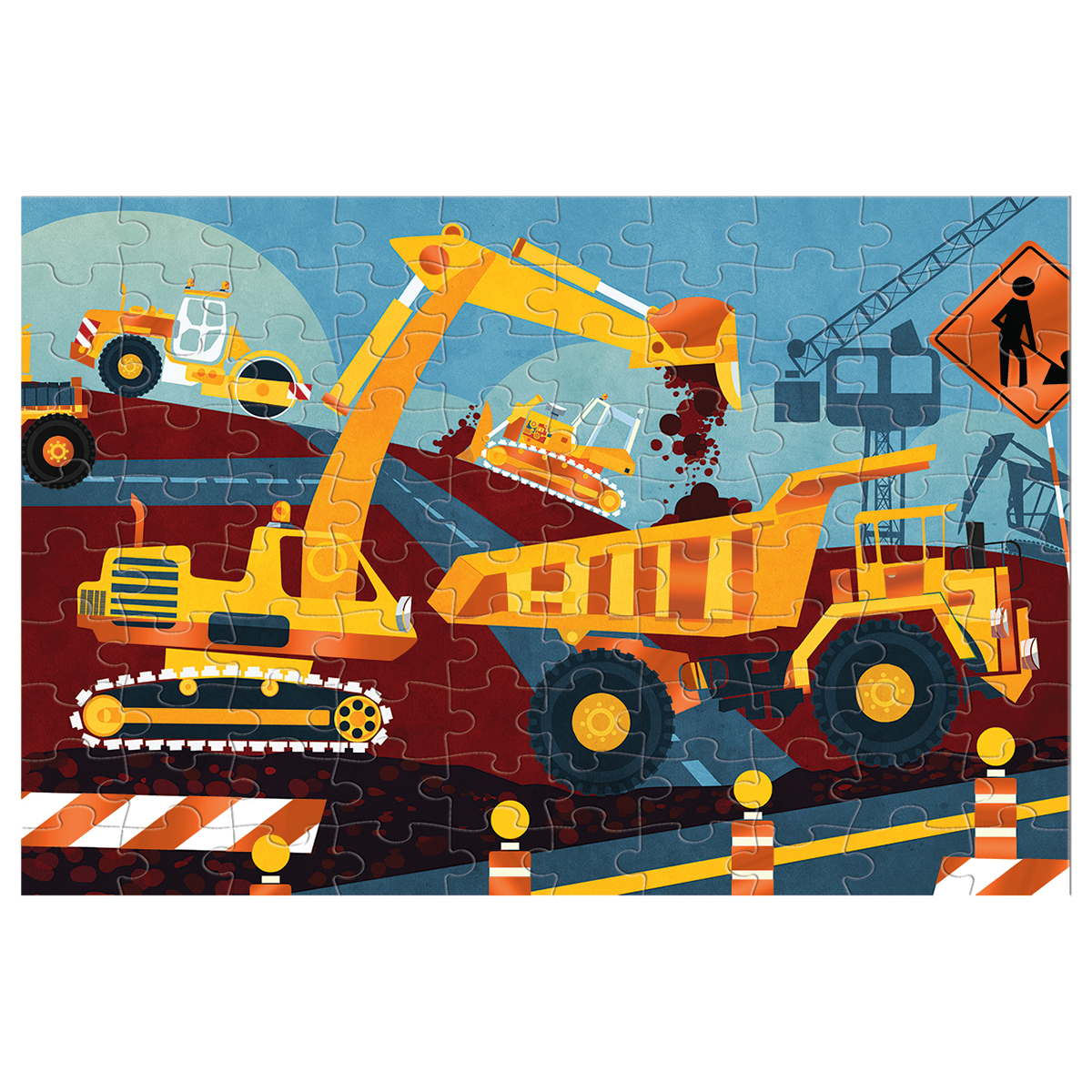 Construction Animals Jigsaw Puzzle