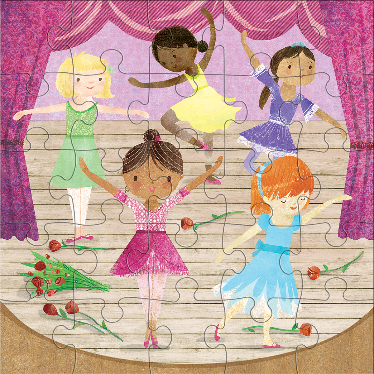 Ballerinas Princess Jigsaw Puzzle