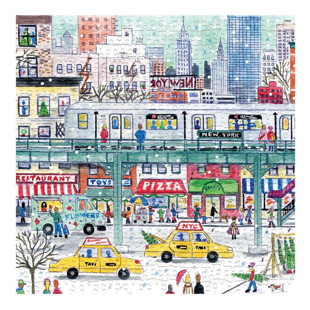 Michael Storrings New York City Subway New York Jigsaw Puzzle