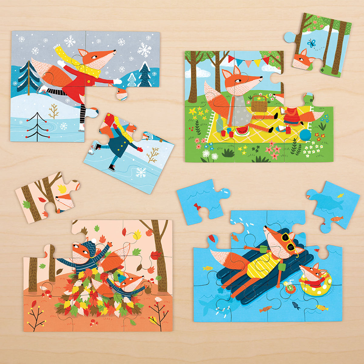 Four Seasons - Scratch and Dent Fall Jigsaw Puzzle