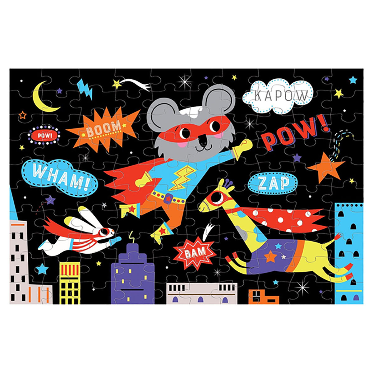 Superhero - Scratch and Dent Fantasy Glow in the Dark Puzzle