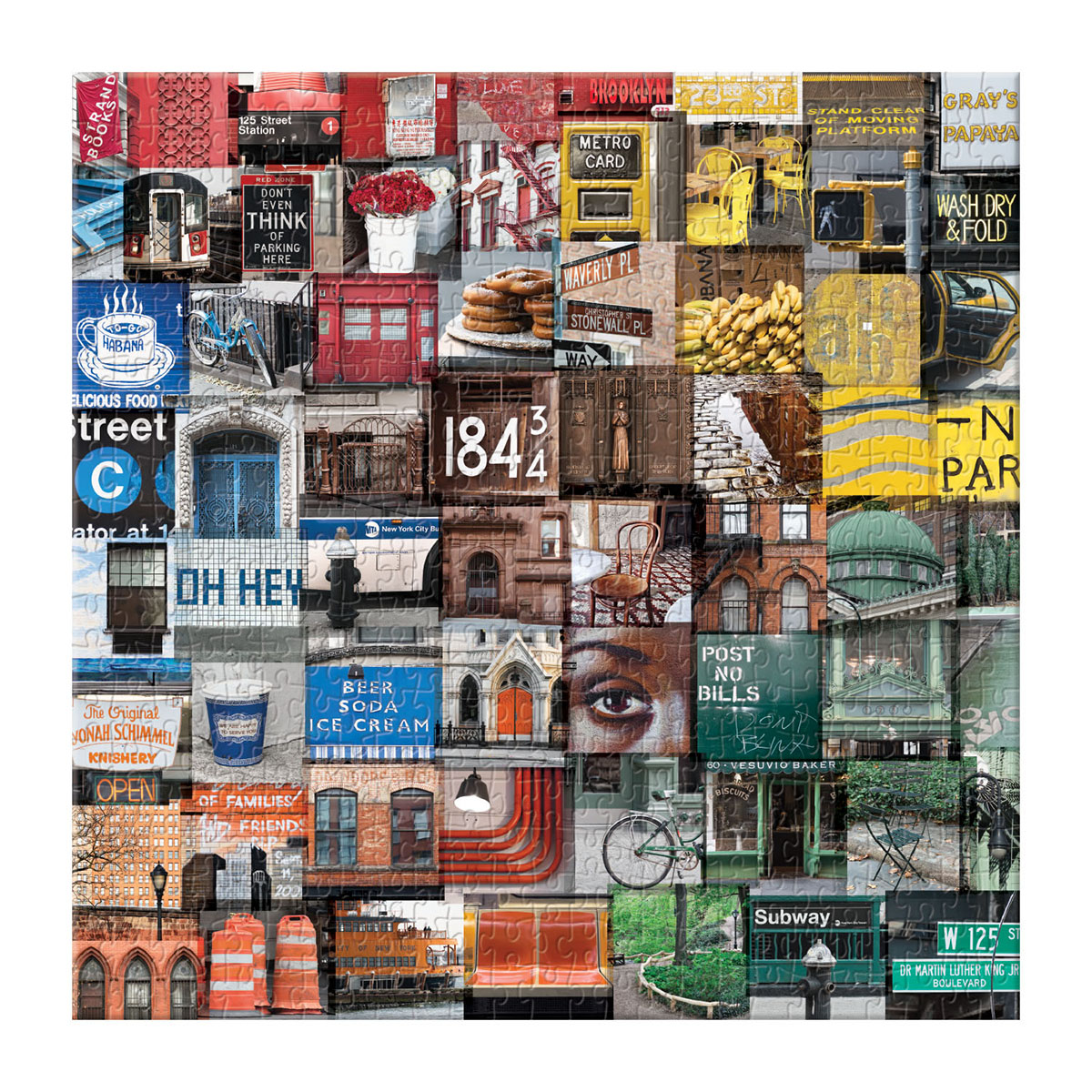 New York In Color New York Jigsaw Puzzle