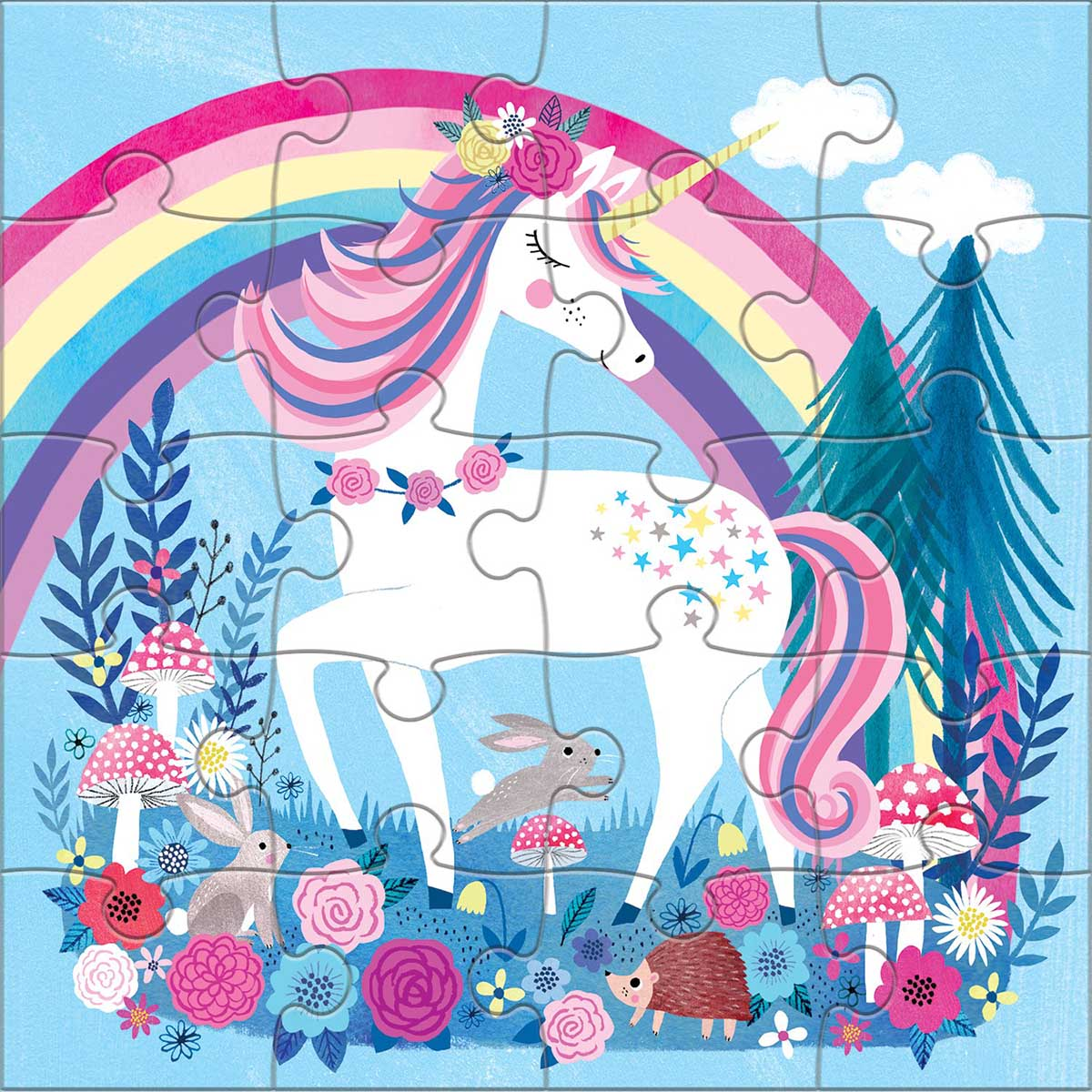Magical Unicorn Fantasy Jigsaw Puzzle