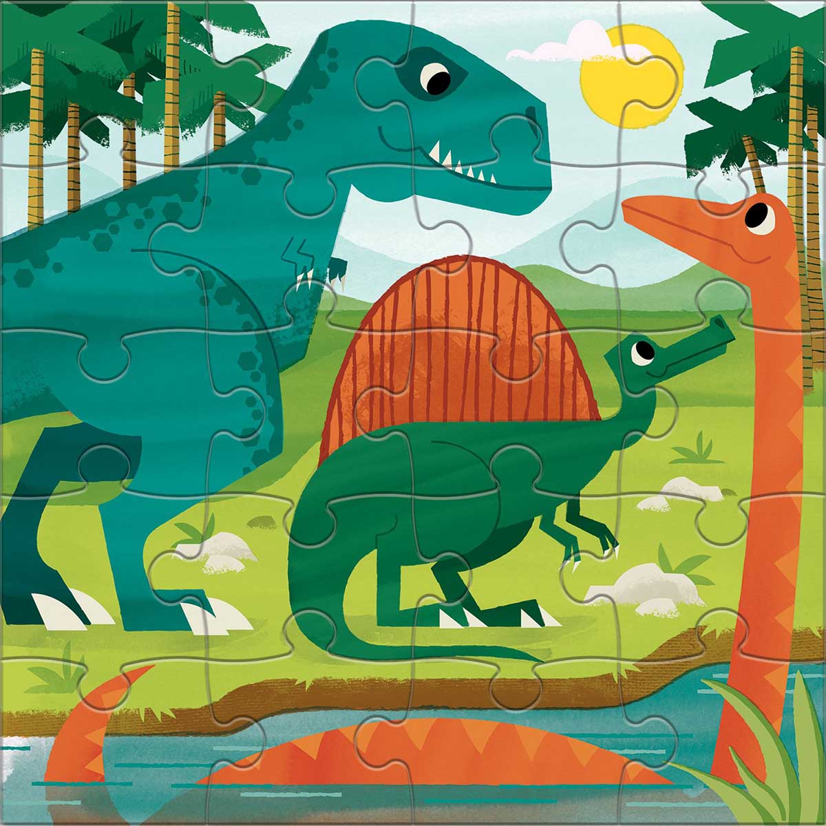 Mighty Dinosaurs Dinosaurs Jigsaw Puzzle