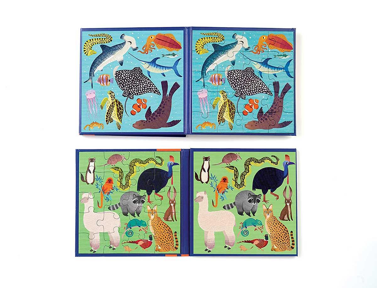 Land & Sea Animals Animals Jigsaw Puzzle