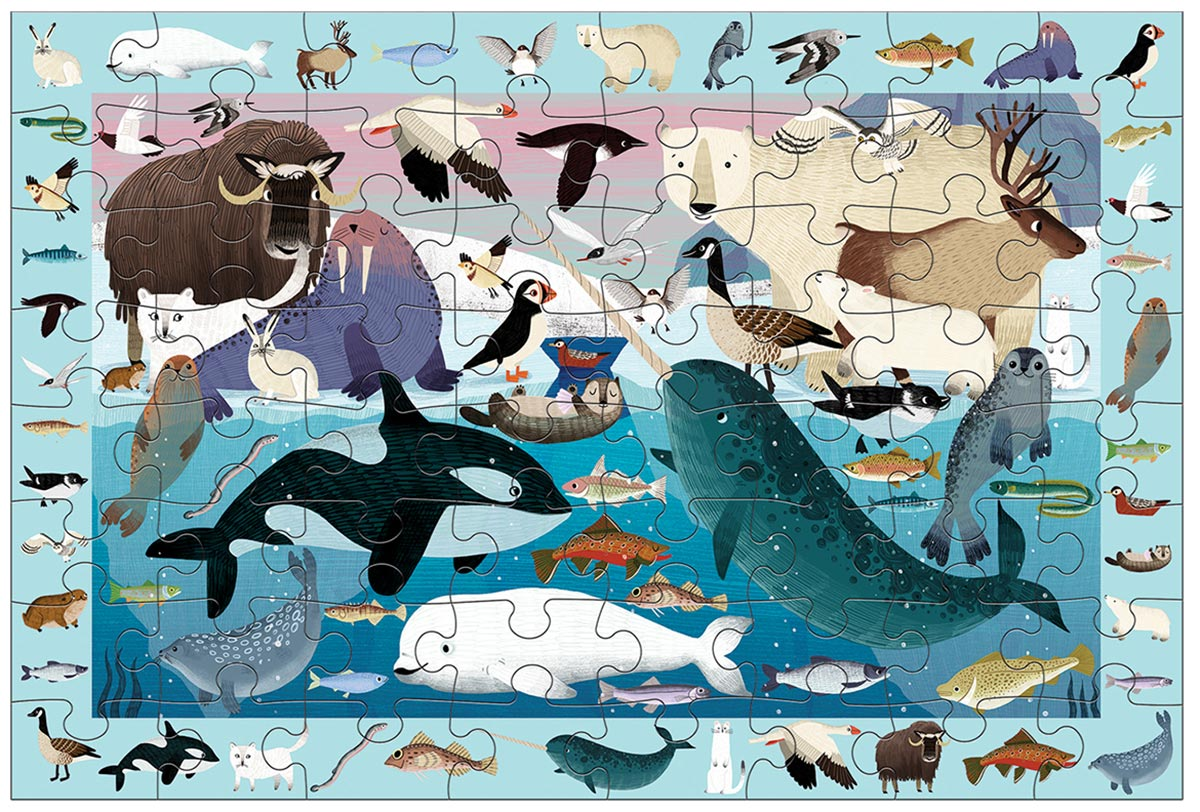 Arctic Life Search & Find Animals Jigsaw Puzzle