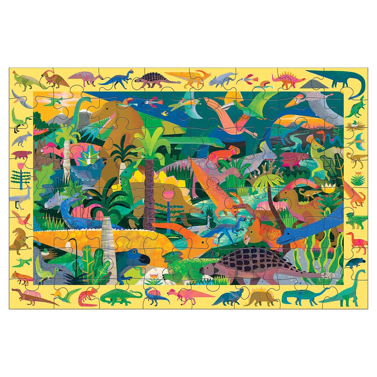 Dinosaurs Search & Find Dinosaurs Jigsaw Puzzle