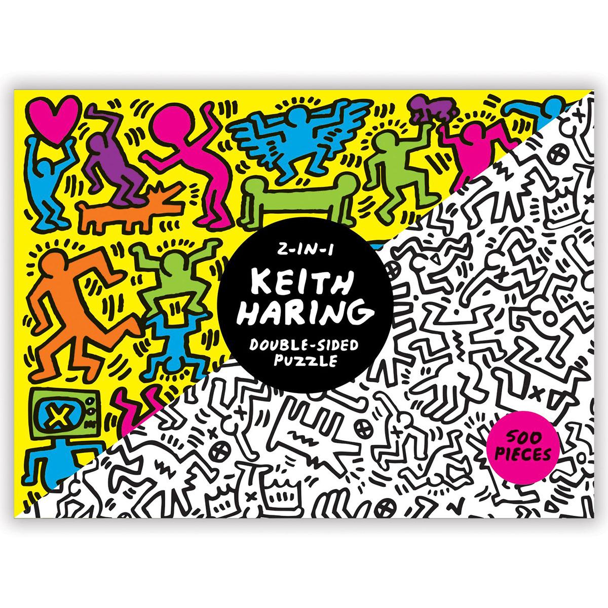 Keith Haring Set Cartoons Jigsaw Puzzle