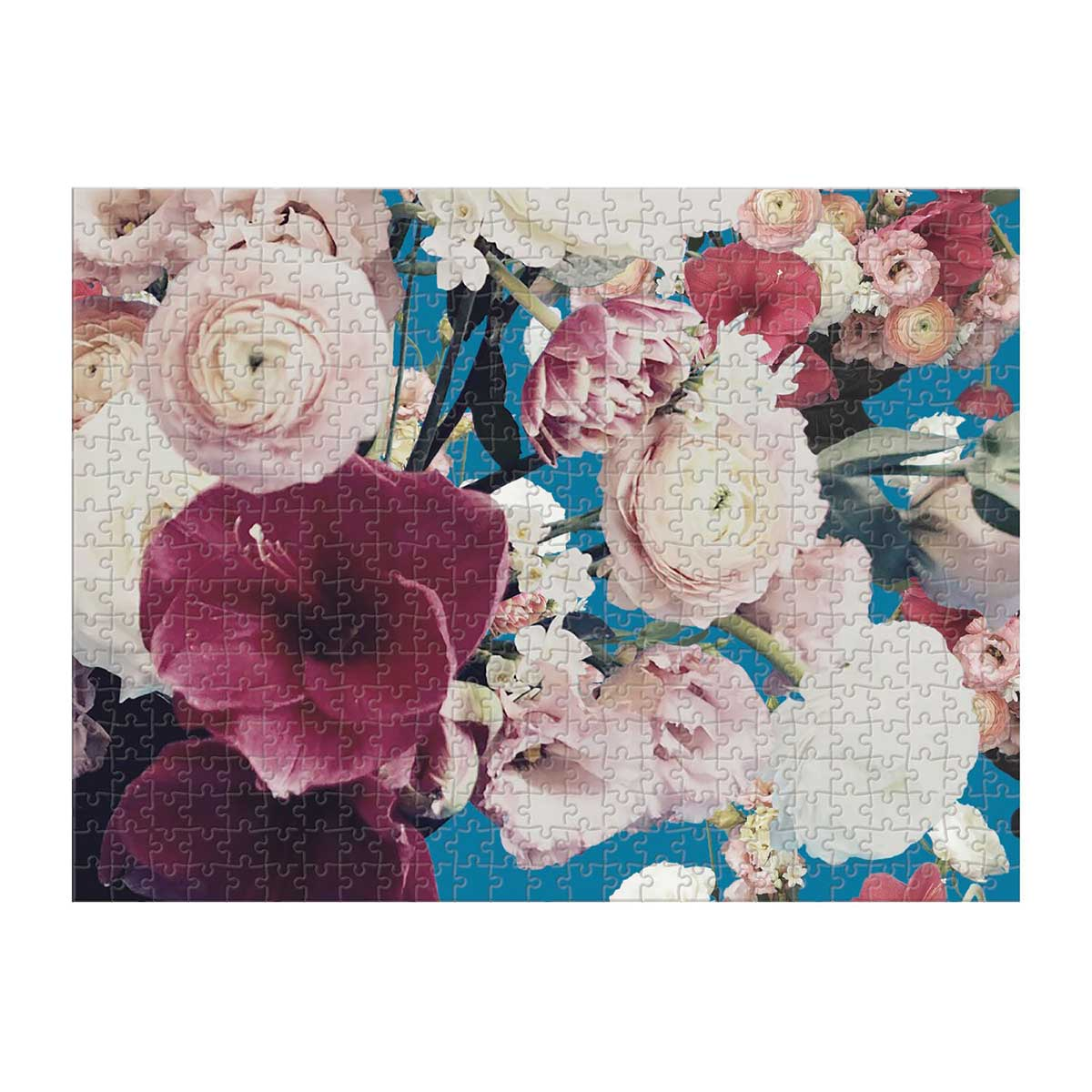 Ashley Woodson Bailey Flowers Jigsaw Puzzle
