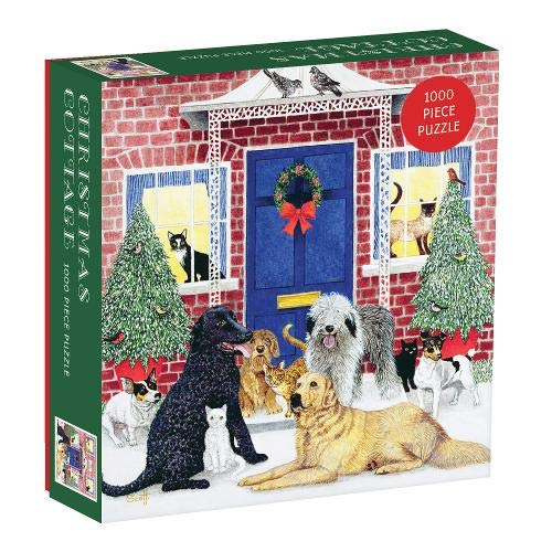 Christmas Cottage Christmas Jigsaw Puzzle