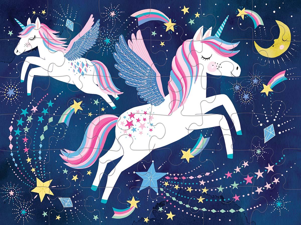 Unicorn Magic Graphics / Illustration Jigsaw Puzzle