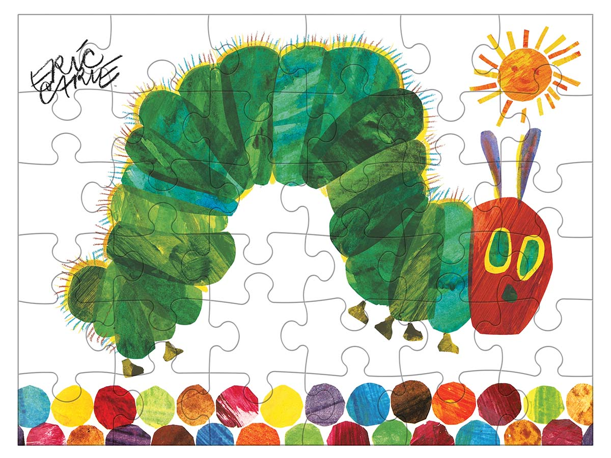 Eric Carle Very Hungry Caterpillar Butterflies and Insects Jigsaw Puzzle